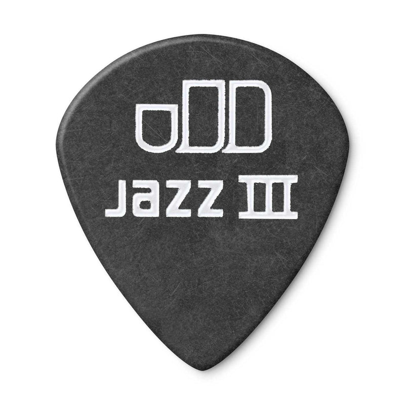 Dunlop Tortex Pitch Black Jazz 1.14MM Picks, Player's Pack of 12