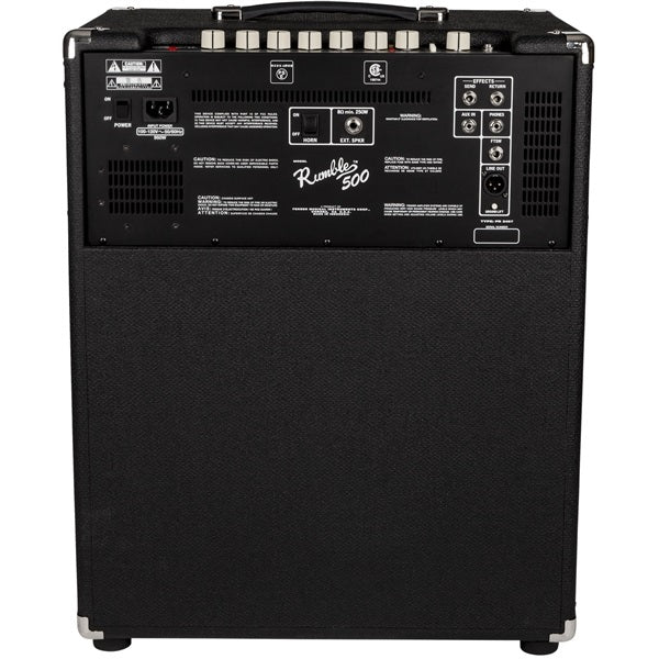 FENDER RUMBLE 500 BASS COMBO AMPLIFIER