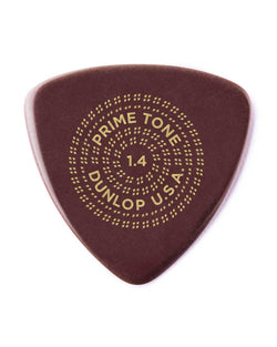 Dunlop Primetone Sculpted Plectra, Ultex Triangle, 1.40MM Thick, Three Pack