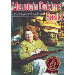 DVD - Mountain Dulcimer Basics -- A Private Lesson with Kendra Ward