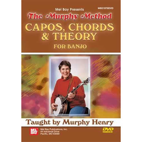 DVD - Capos, Chords and Theory for Banjo
