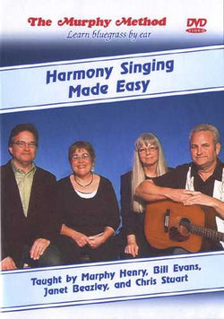 DVD - Harmony Singing Made Easy