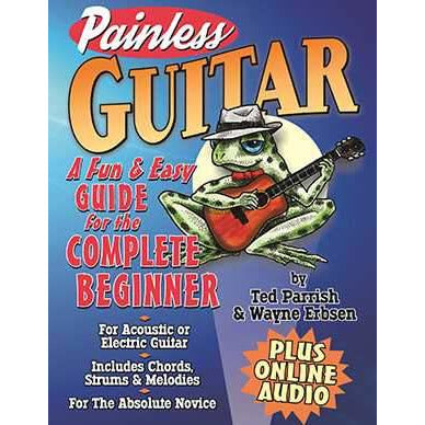 Painless Guitar-A Fun & Easy Guide for the Complete Beginner