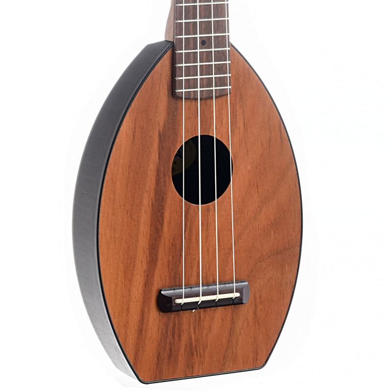 Magic Fluke Company Koa Flea Soprano Ukulele and Cinch Sack