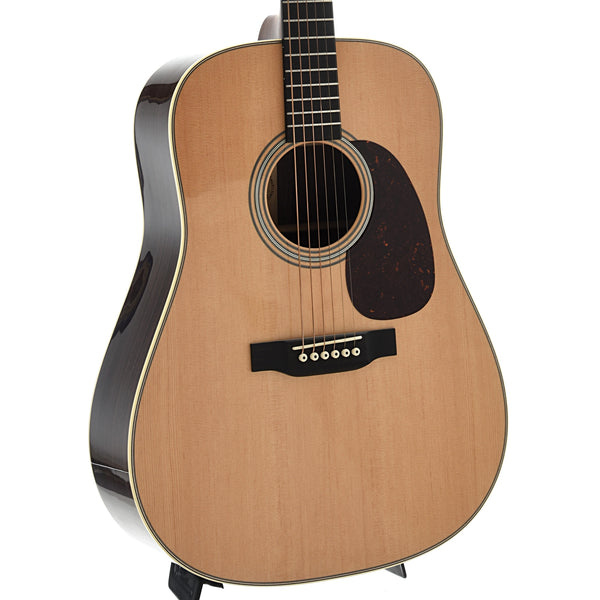 Martin Custom 28 Style Dreadnought Guitar & Case, Wild Grain Indian Rosewood & VTS Sitka Spruce Top