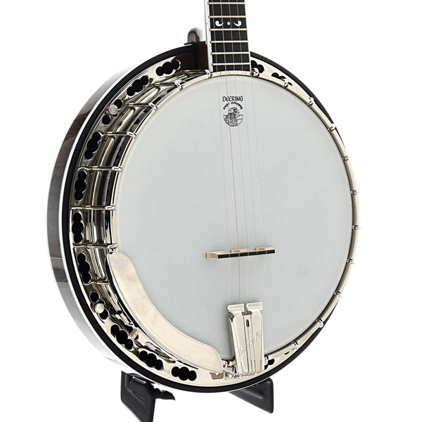 Deering Maple Blossom Banjo & Case, Radiused Fretboard