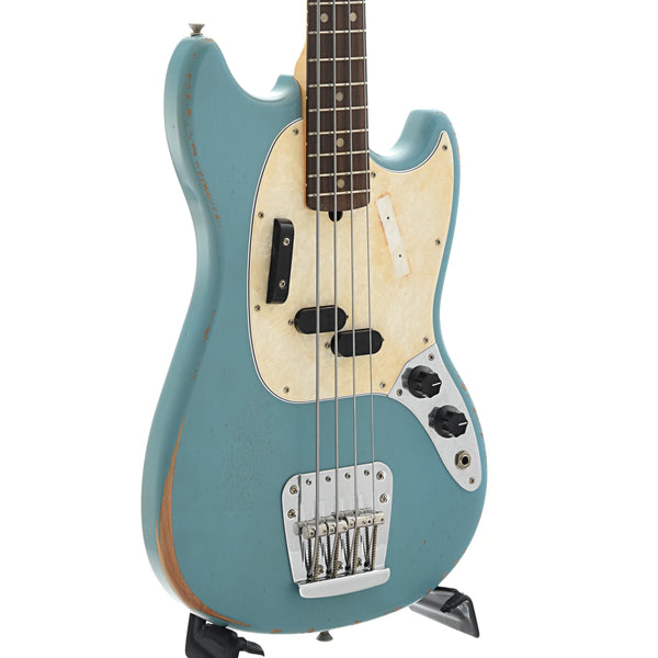 Fender Justin Meldal-Johnsen Road Worn Mustang Bass with Gigbag