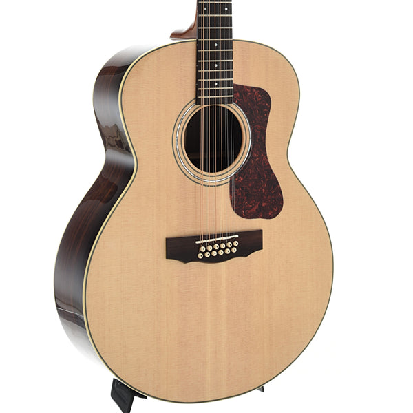 Guild Westerly Collection F-1512E 12-String Acoustic Electric Guitar and Case