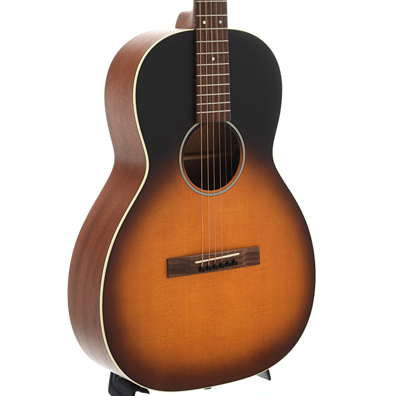 Martin 00-17SE Whiskey Sunset Guitar with Pickup & Case