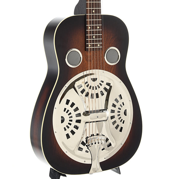 Beard Deco-Phonic Model 57 Squareneck Resonator Guitar & Case