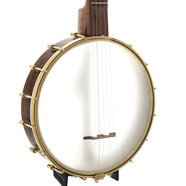 "Dogwood Banjo Co. 12"" Openback Banjo, Walnut"