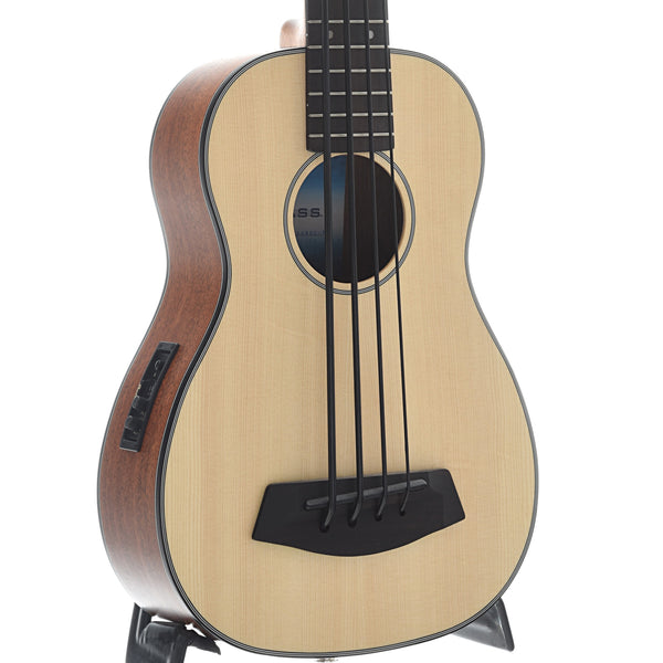 Kala U-Bass-SSMHG-FS Fretted Mini-Bass, Spruce Top
