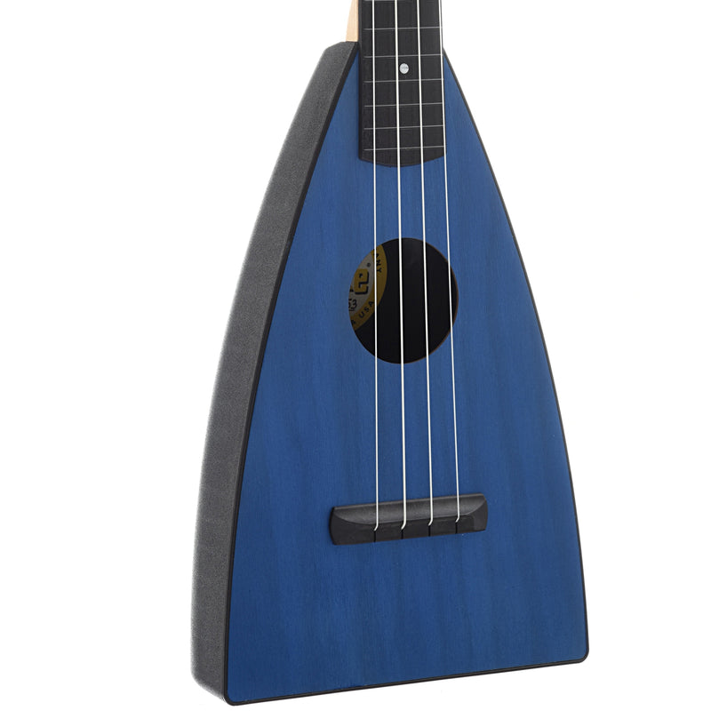 Magic Fluke Company Fluke Ukulele, Concert, Sapphire Blue Finish with Gigbag