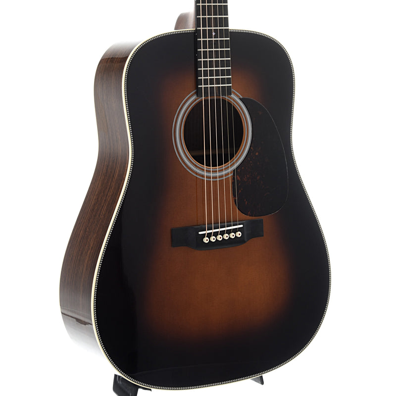 Martin HD-28 Sunburst Guitar & Case