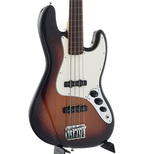 Fender Player Jazz Bass Fretless, 3 Color Sunburst
