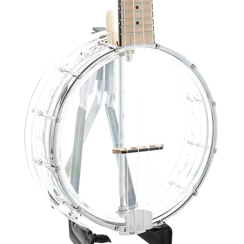 Gold Tone Little Gem Banjo Ukulele & Gigbag, Diamond (clear)