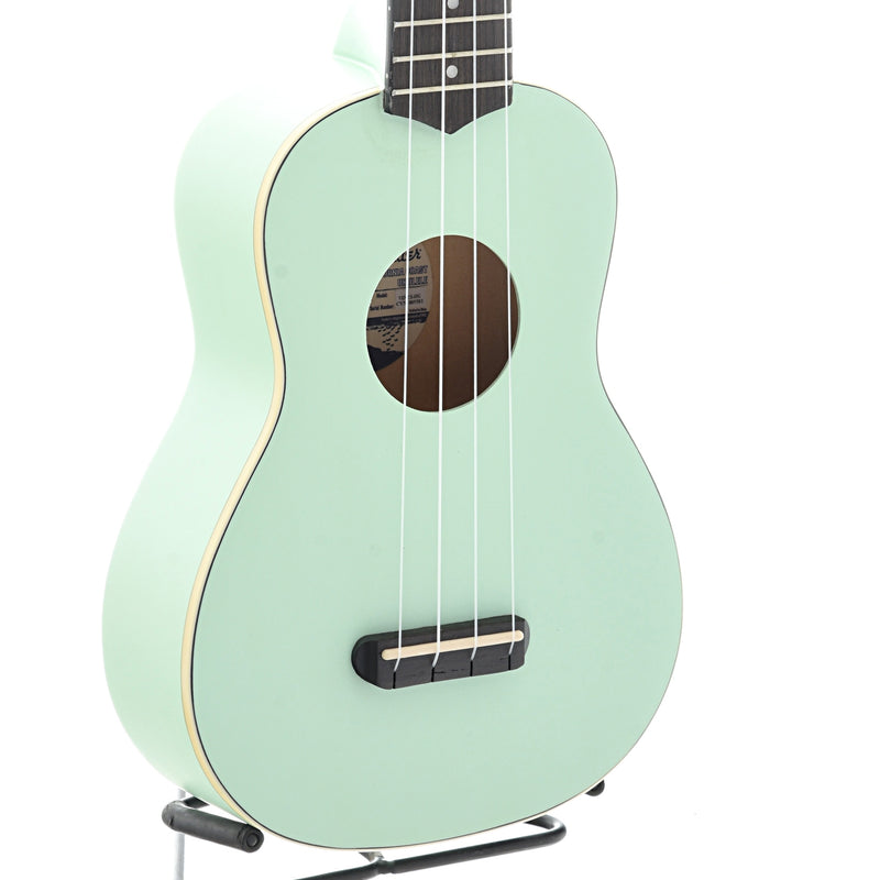 Fender Venice Soprano Ukulele, Surf Green Finish