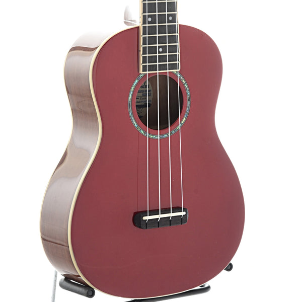 Fender Zuma Classic Concert Ukulele, Candy Apple Red Finish