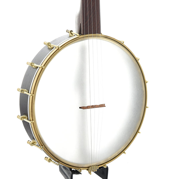 "Dogwood Banjo Co. 12"" Fretless Openback Banjo, Wenge & Walnut"