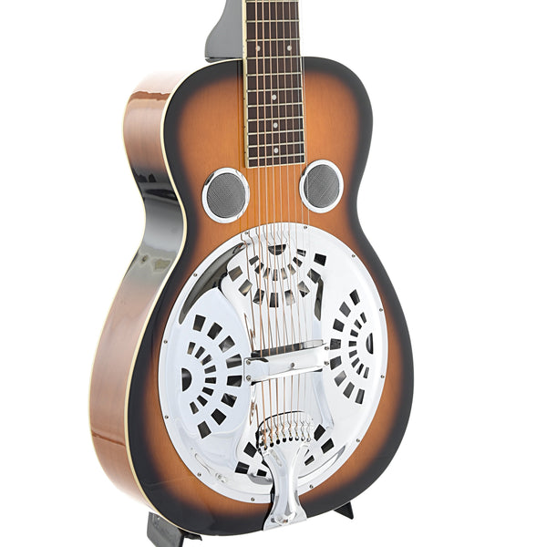 Beard Gold Tone PBS-8 Mahogany Standard 8-String, Squareneck Resonator Guitar