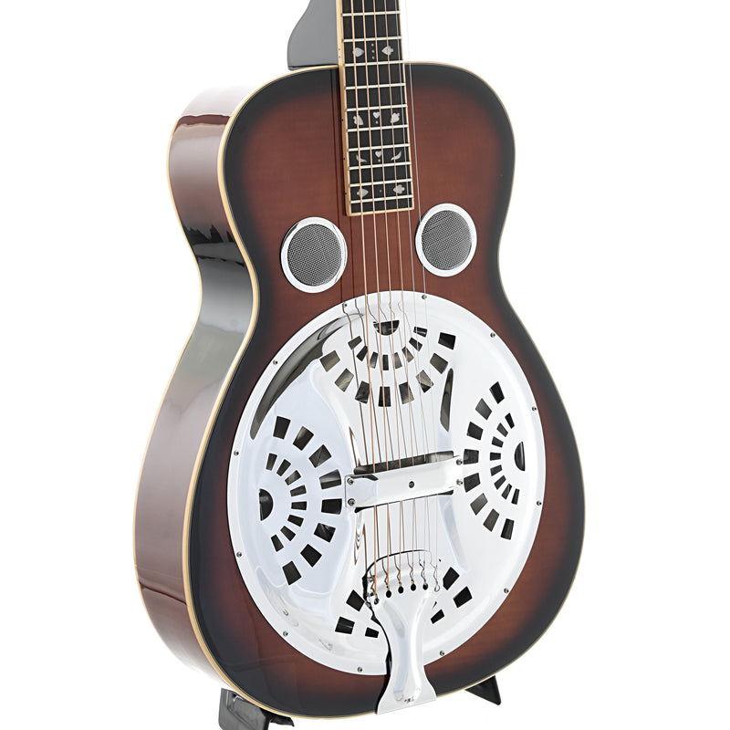 Beard Gold Tone PBS-D Maple Deluxe, Squareneck Resonator Guitar & Case