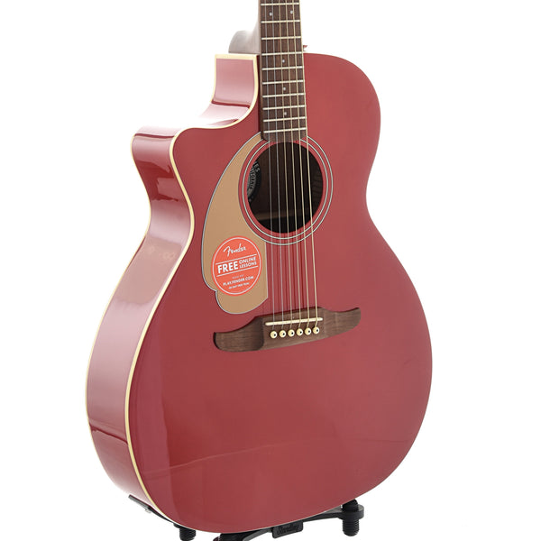 Fender Newporter Player Left Handed Acoustic Guitar