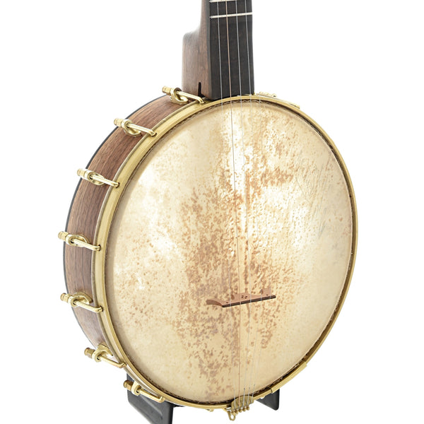 "Dogwood Banjo Co. 11"" Openback Banjo, Walnut"