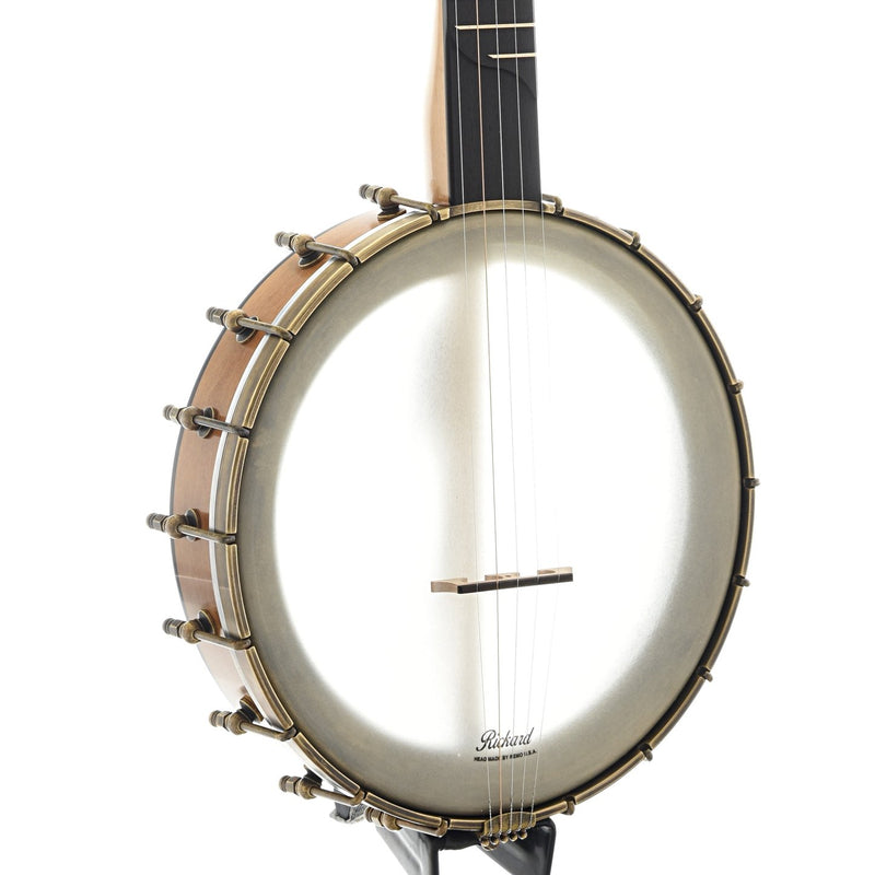 "Rickard 11"" Dobson Openback Banjo & Case, with Rickard 10:1 Cyclone Tuners and Spikes"