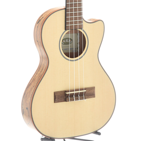 Kala KA-SSTU-SMT-C Thinline Travel Tenor Cutaway Ukulele, with Gigbag