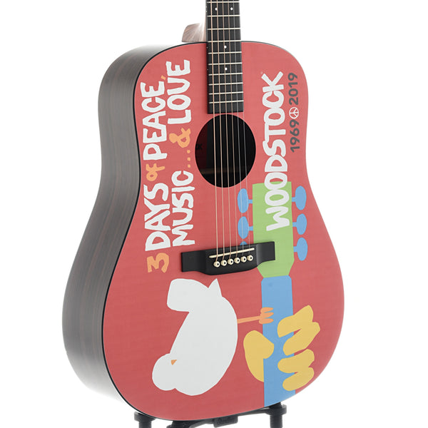 Martin DX Woodstock 50th Anniversary Guitar, with Pickup