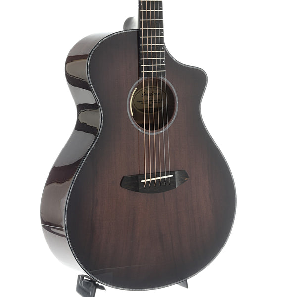 Breedlove Oregon Series Concert  Black Cherry CE Myrtlewood-Myrtlewood LTD Acoustic-Electric Guitar