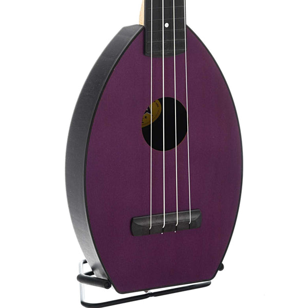 Magic Fluke Company Flea Ukulele, Soprano, Amethyst Purple Finish with Gigbag