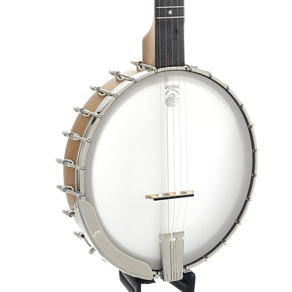 Deering Vega White Oak Custom Banjo & Case