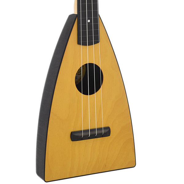 Magic Fluke Company Fluke Ukulele, Concert, Citrine Yellow Finish with Gigbag