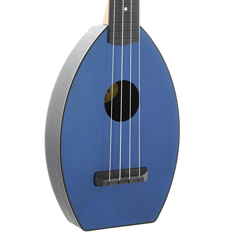 Magic Fluke Company Flea Ukulele, Concert, Sapphire Blue Finish with Gigbag