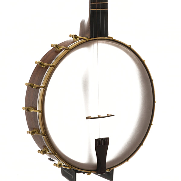 "C. Waldman 12"" Chromatic (Step-Side) Openback Banjo, No. 122"