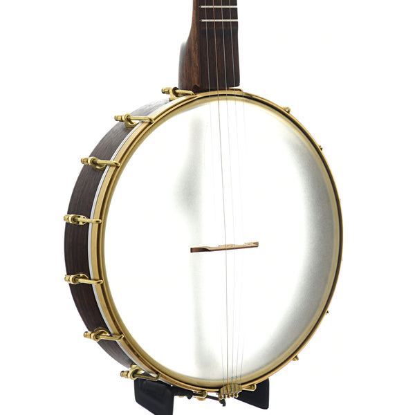 "Dogwood Banjo Co. 12"" Openback Banjo, Brass Hoop Tone Ring"
