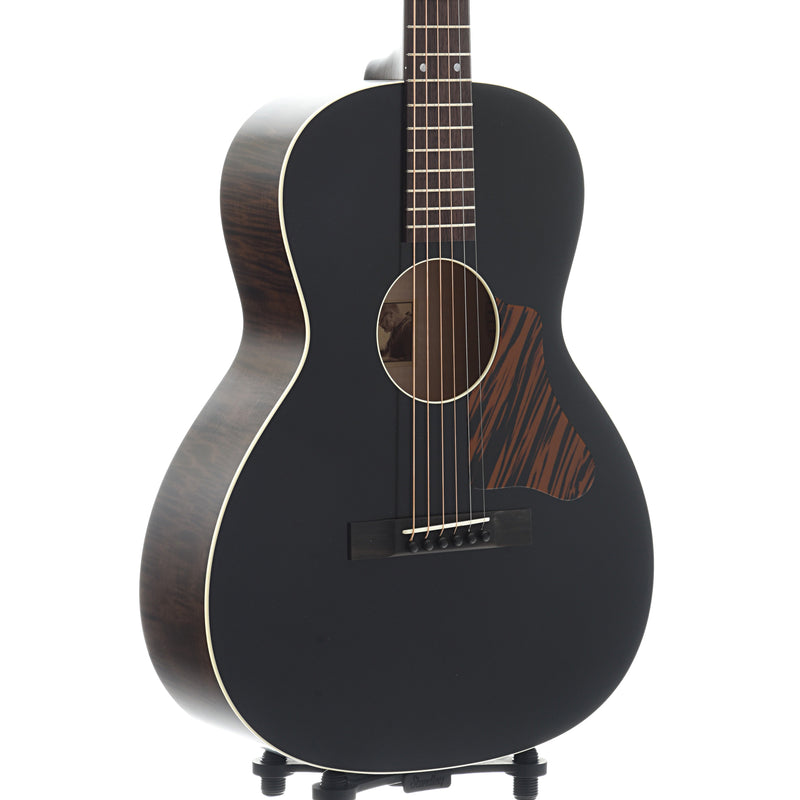 Waterloo WL-12 Guitar & Case, Black Top