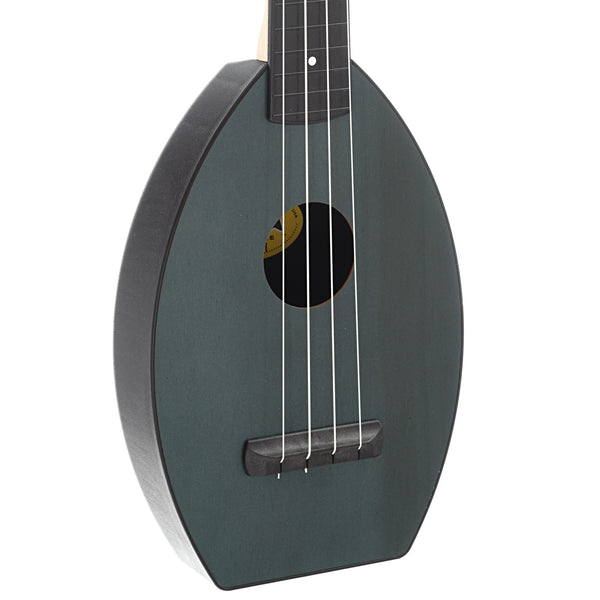 Magic Fluke Company Flea Ukulele, Soprano, Ukelyptus Green Finish with Gigbag