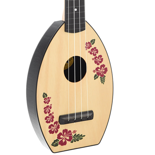 Magic Fluke Company Flea Ukulele, Concert, Island Design with Gigbag