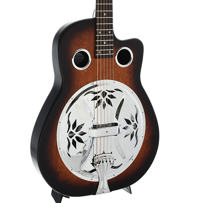 Beard Copper Mountain Resonator Guitar & Gigbag, Roundneck