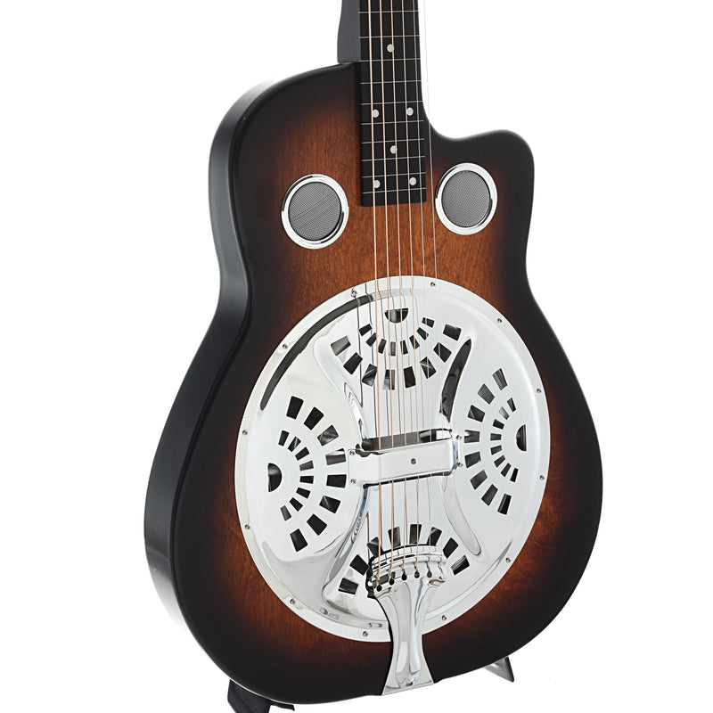 Beard Copper Mountain Resonator Guitar & Gigbag, Squareneck