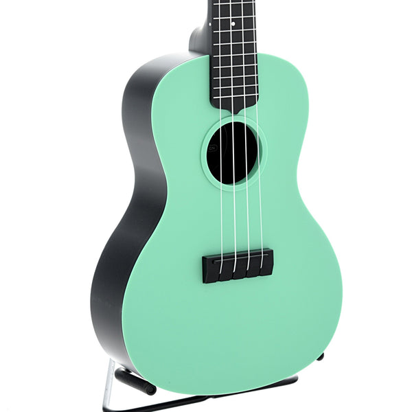 Kala Waterman KA-CWB Concert Ukulele with Carrying Bag, Matte Green