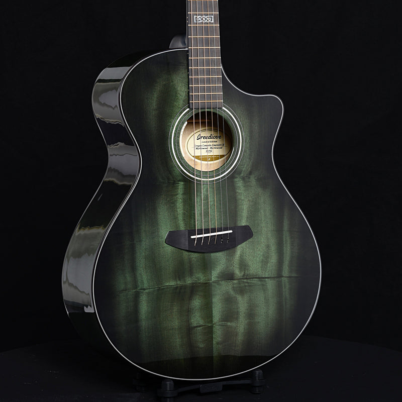 Breedlove Oregon Concerto Emerald CE Myrtlewood-Myrtlewood LTD Acoustic-Electric Guitar