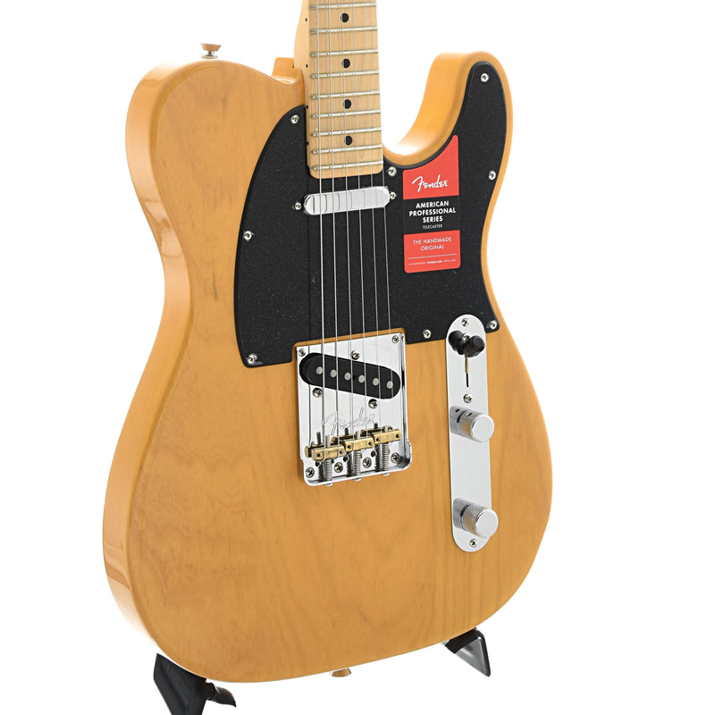 Fender American Pro Telecaster & Case, Butterscotch Blonde