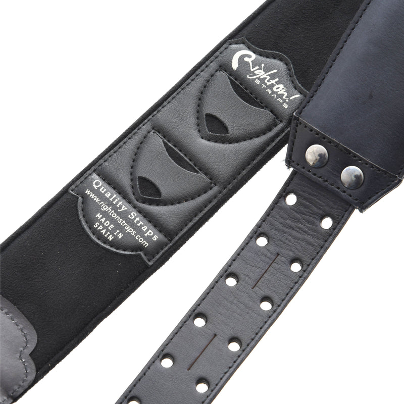 RIGHT ON! STRAPS LEATHERCRAFT VINTAGE GUITAR STRAP