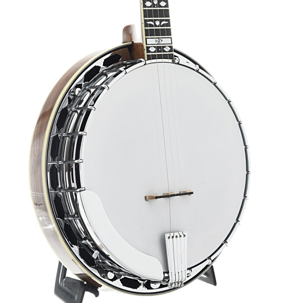 DP Hopkins Walnut Deluxe Banjo & Case
