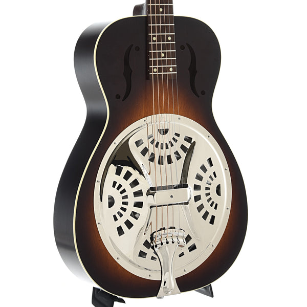 Beard Deco-Phonic Model 27 Roundneck Resonator Guitar & Case