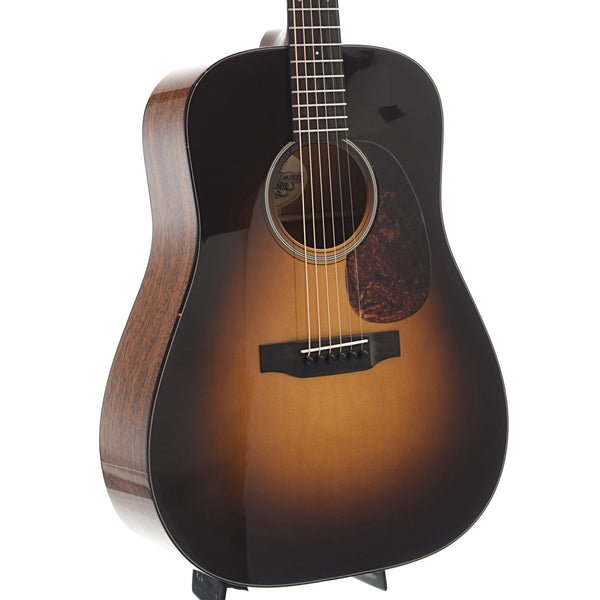 Preston Thompson Guitars D-MA Mahogany Dreadnought, Sunburst, with Case