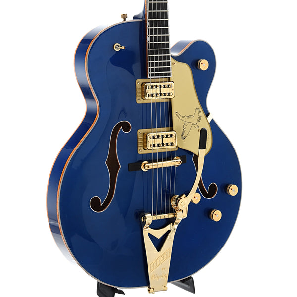 Gretsch G6136T Limited Edition Falcon, Azure Metallic Finish, with Case